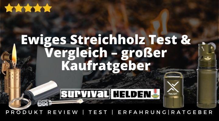 Ewiges Streichholz Test & Vergleich – großer Kaufratgeber & Erfahrung 2020