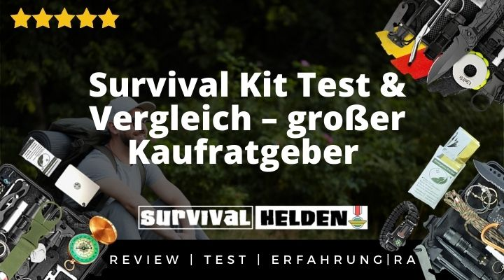 Survival Kit Test & Vergleich – großer Kaufratgeber & Erfahrung 2020