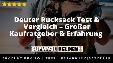 Deuter Rucksack Test & Vergleich – Großer Kaufratgeber & Erfahrung 2020 (2)