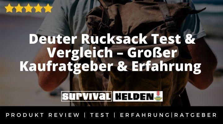 Deuter Rucksack Test & Vergleich – Großer Kaufratgeber & Erfahrung 2020