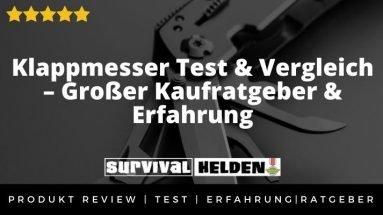 Klappmesser Test & Vergleich – Großer Kaufratgeber & Erfahrung 2020