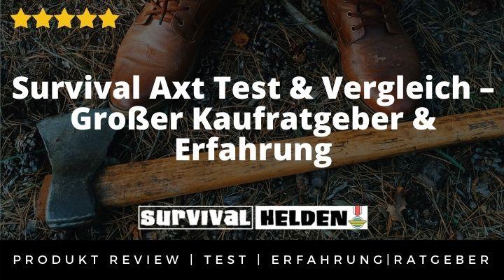 Survival Axt Test & Vergleich – Großer Kaufratgeber & Erfahrung 2020