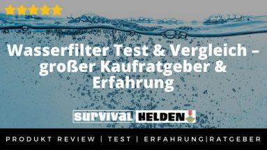 Wasserfilter Test & Vergleich – großer Kaufratgeber & Erfahrung 2021