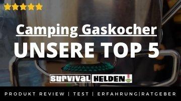 Camping Gaskocher - UNSERE TOP 5