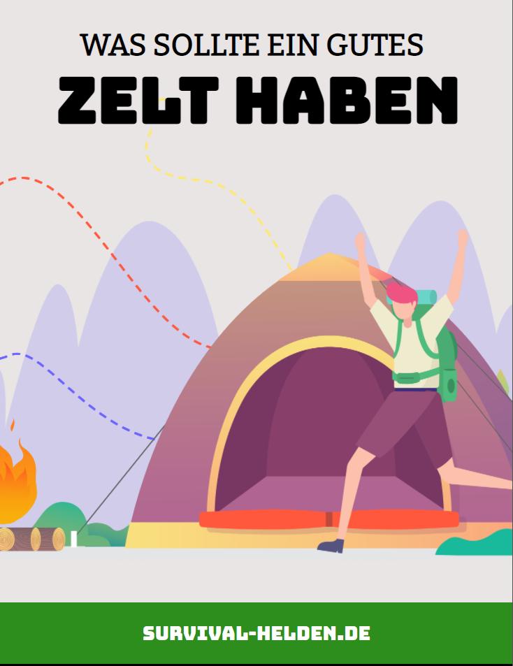 was sollte ein gutes Zelt haben