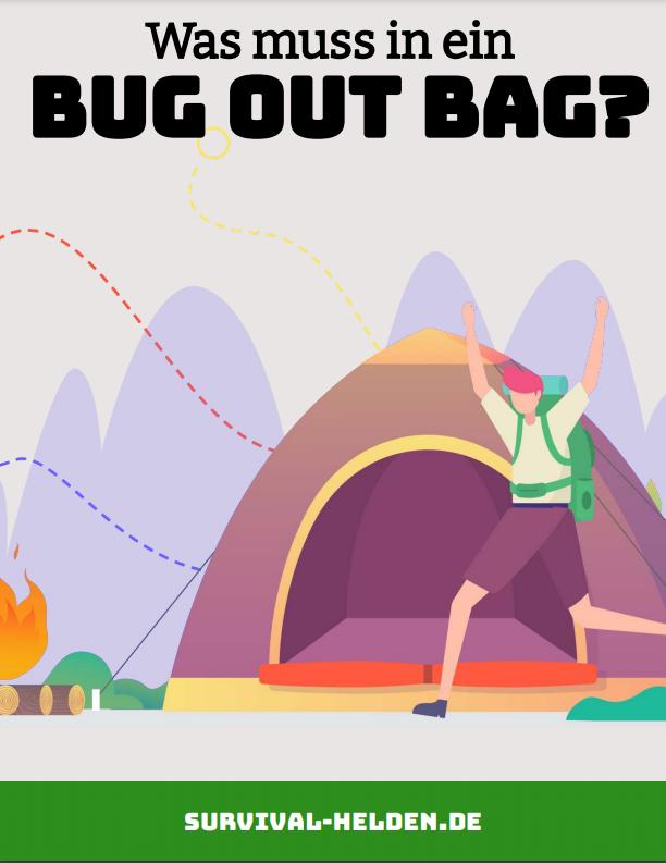 Was muss in einen Bug out Bag_