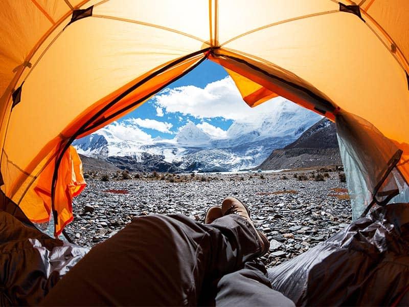 Was sollte ein gutes Zelt haben?